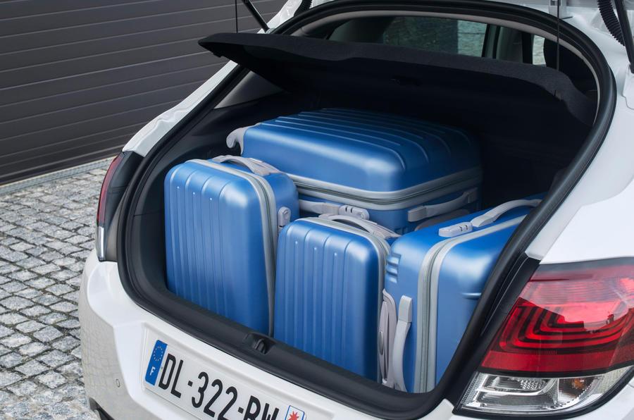 Citroën C4 boot space