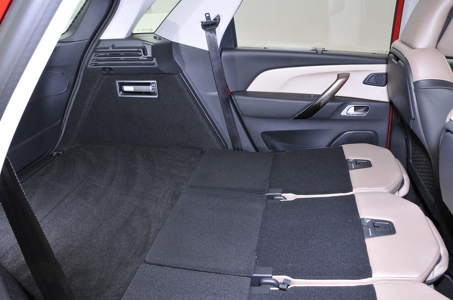 Citroën C4 Picasso full boot space