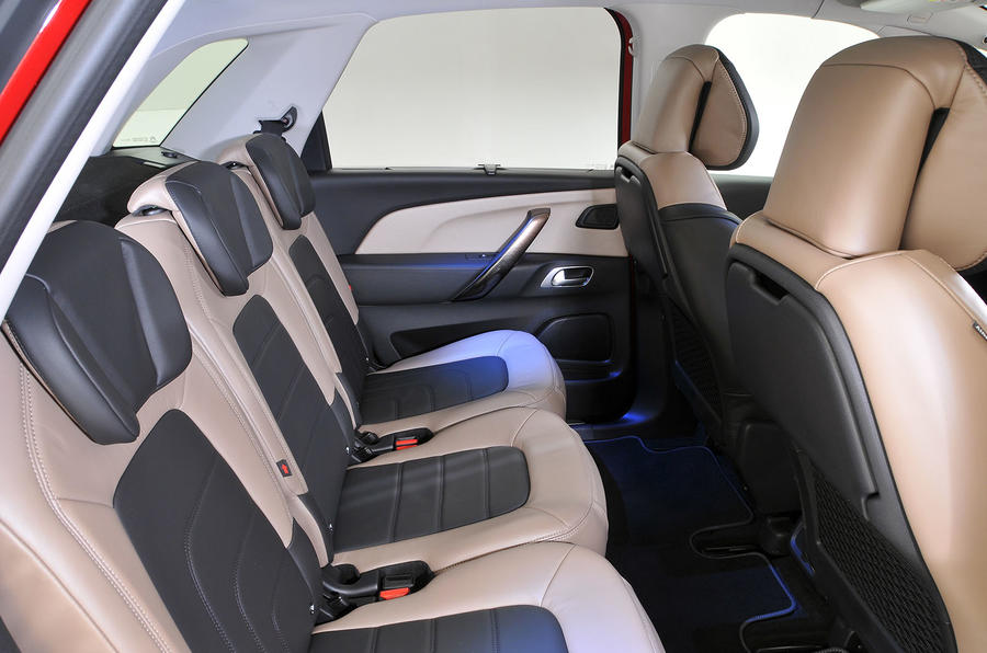 Citroën C4 Picasso rear seats