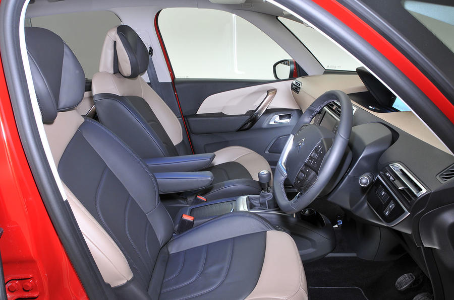 Citroën C4 Picasso interior