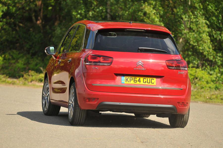 Citroën C4 Picasso rear cornering