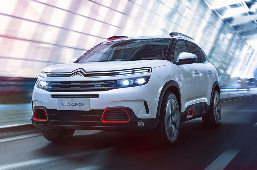 Citroen C5 Aircross SUV revealed ahead of 2018 launch