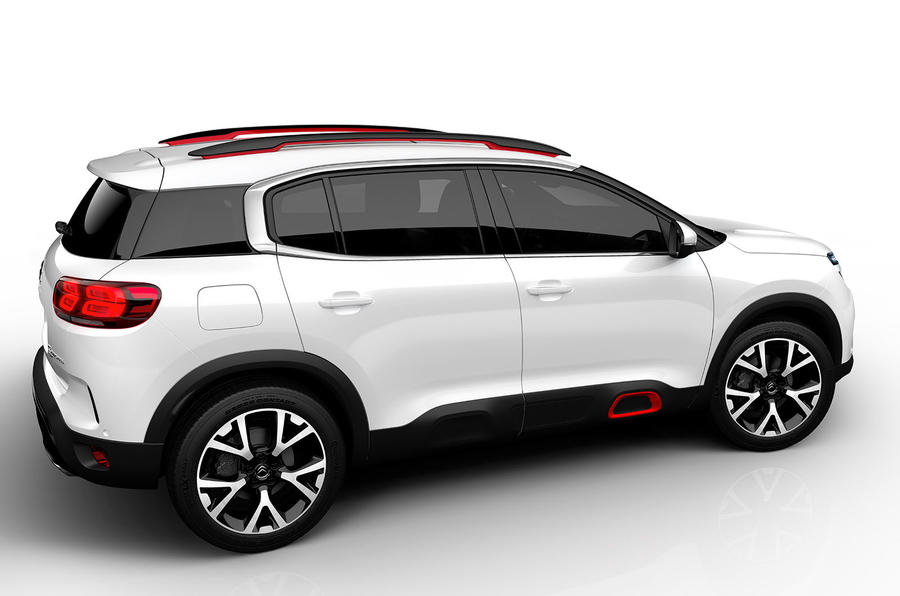 Citroen C5 Aircross Suv To Be Revealed At Shanghai Motor