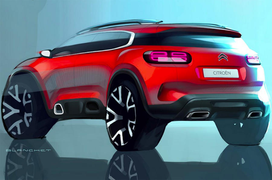 citroen c5 aircross suv to be revealed at shanghai motor show autocar. Black Bedroom Furniture Sets. Home Design Ideas