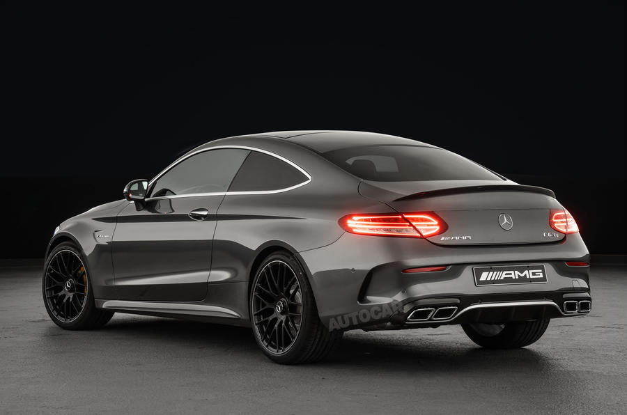 2016 mercedes amg c63 coupe revealed exclusive studio. Black Bedroom Furniture Sets. Home Design Ideas