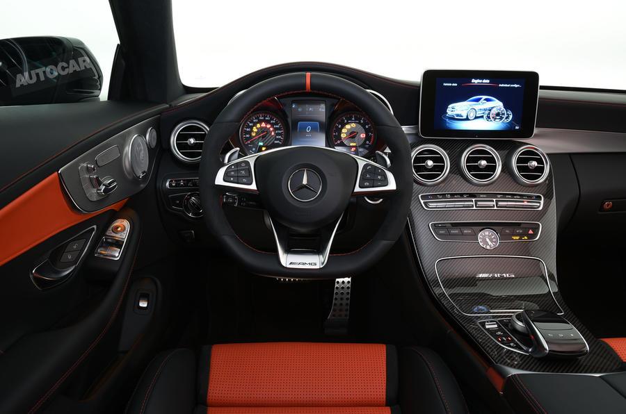 2016 MercedesAMG C63 Coupe revealed  exclusive studio pictures