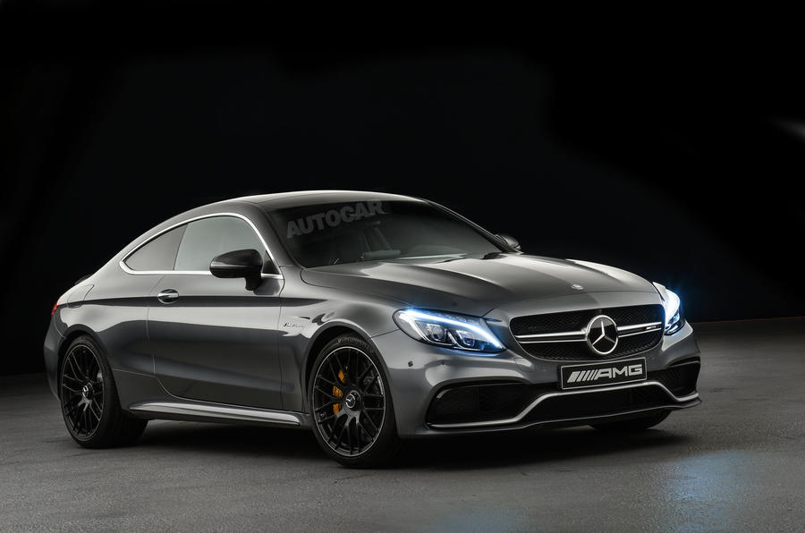 2016 mercedes amg c63 coupe revealed exclusive studio pictures autocar. Black Bedroom Furniture Sets. Home Design Ideas