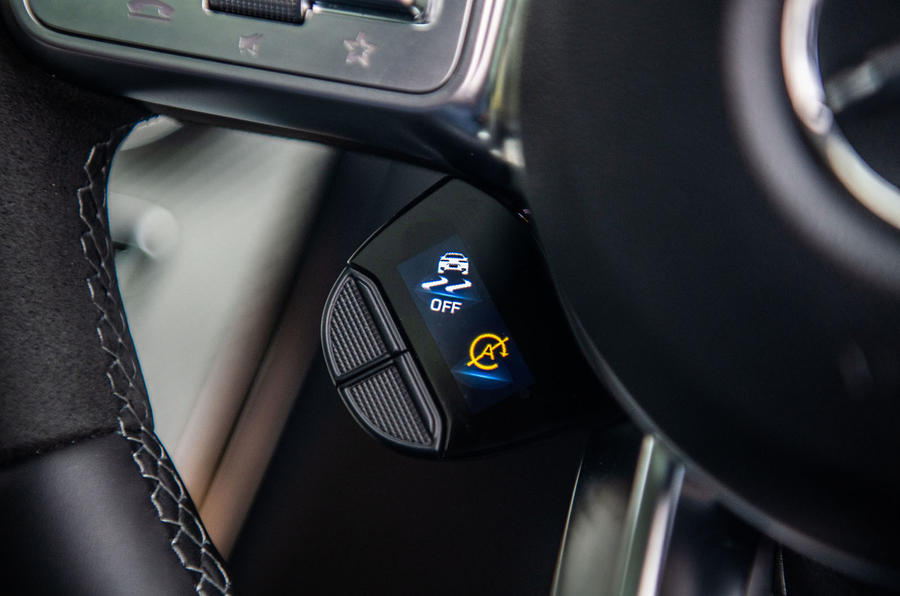 Mercedes-AMG C63 S 2018 mode toggle
