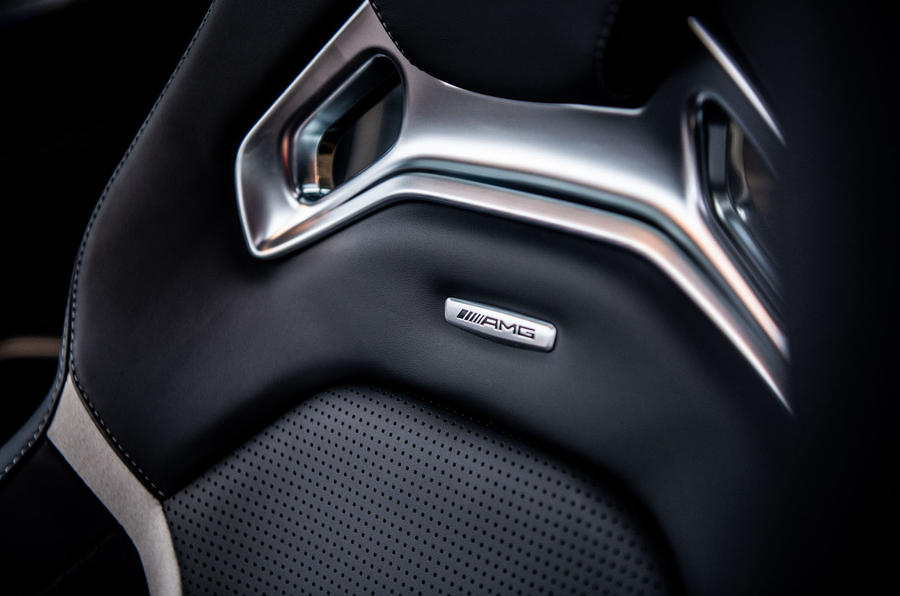 Mercedes-AMG C63 S 2018 seats