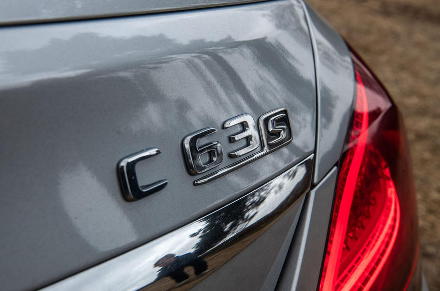 Mercedes-AMG C63 S 2018 badge