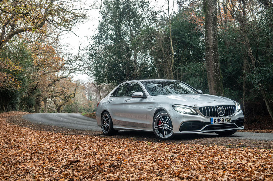 Mercedes-AMG C63 S 2018 static wallpaper