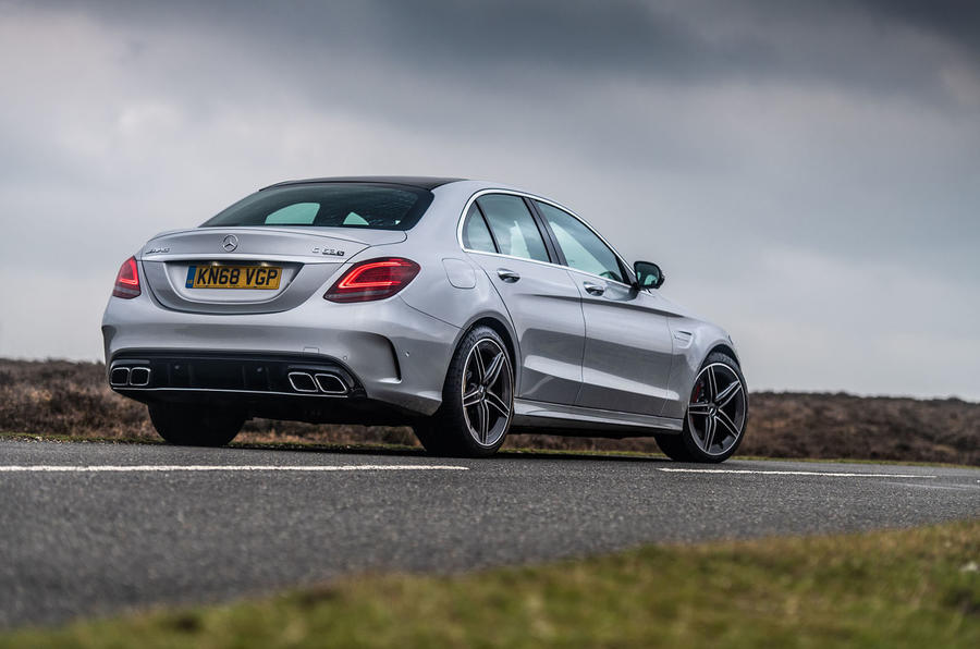 Mercedes-AMG C63 S 2018 rear static