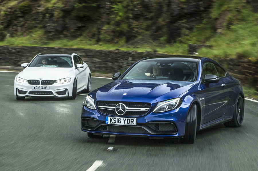 Mercedes Amg C63 S Coupe Vs Bmw M4 Competition Pack Twin Test