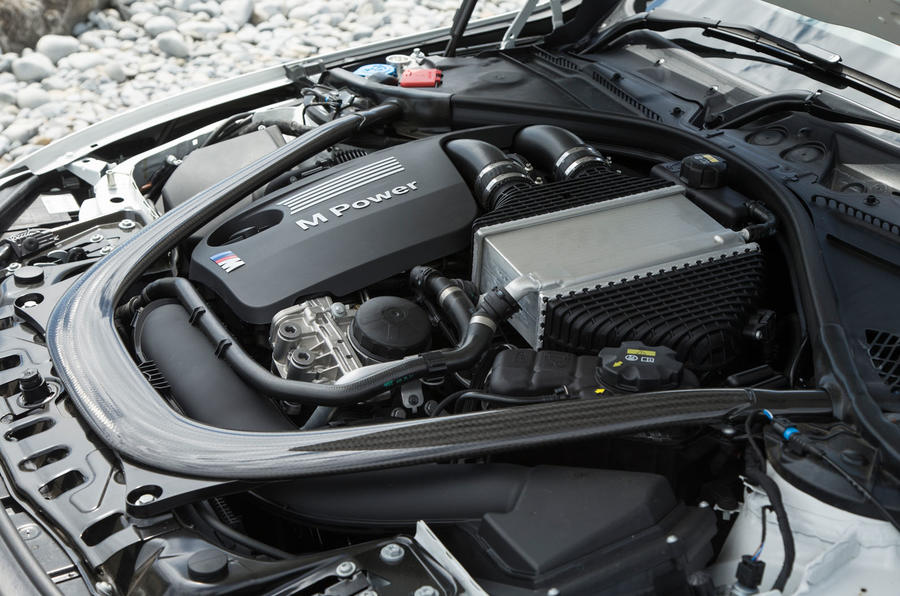 Mercedes-AMG C63 S Coupé engine