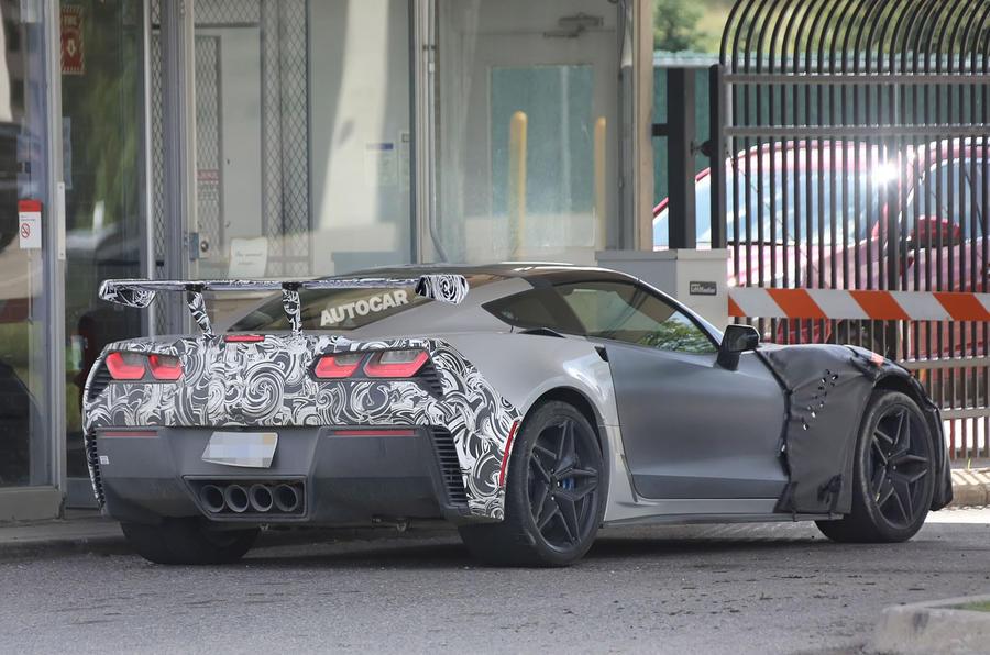 2017 Chevrolet Corvette ZR1 – 700bhp supercar is last ...