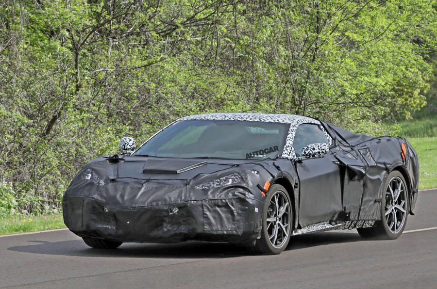 C8 Corvette Release Date >> 2019 Chevrolet Corvette C8 New Pictures Of 700bhp Mid