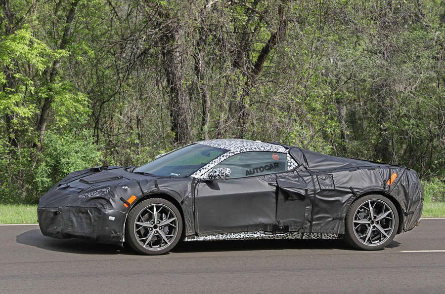 2019 Chevrolet Corvette C8 New Pictures Of 700bhp Mid Engined