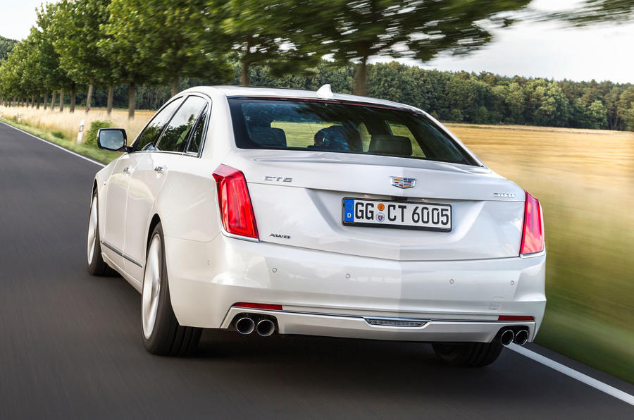 Cadillac CT6 Platinum rear