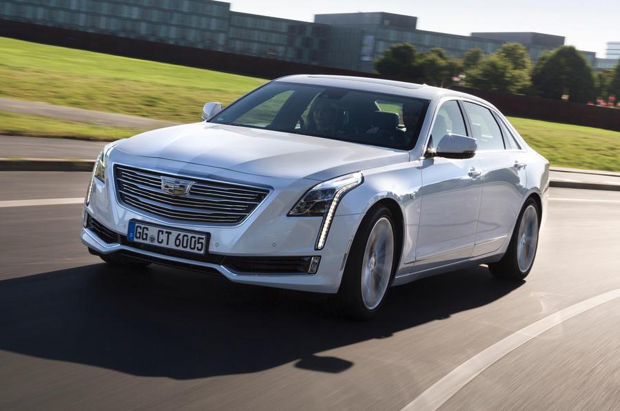 411bhp Cadillac CT6 Platinum cornering