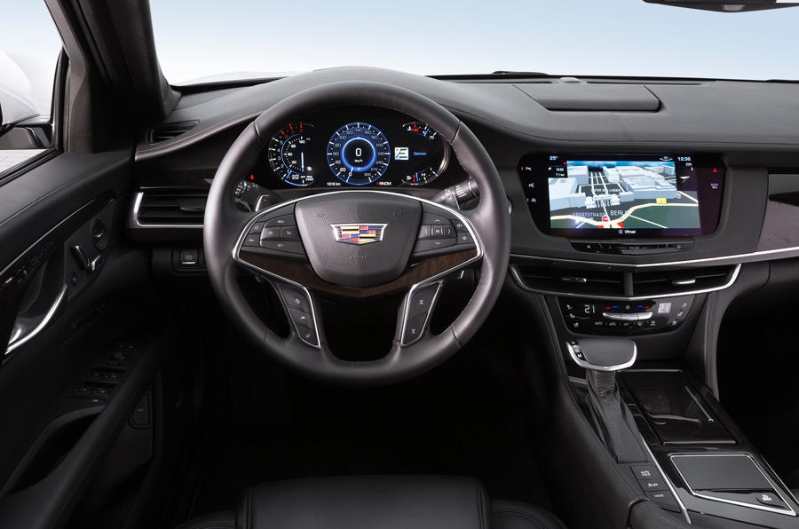 Cadillac CT6 Platinum dashboard