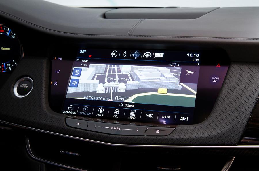 Cadillac CT6 Platinum infotainment