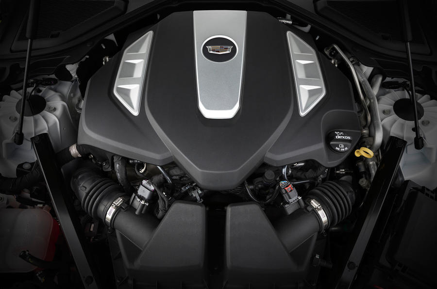 3.0-litre V6 Cadillac CT6 Platinum engine