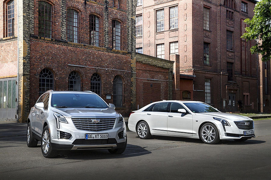 Cadillac CT6 and XT5