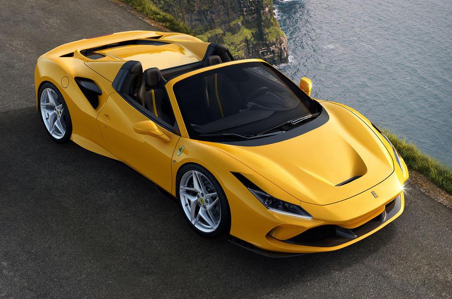 Ferrari F8 Spider revealed ahead of Frankfurt auto show