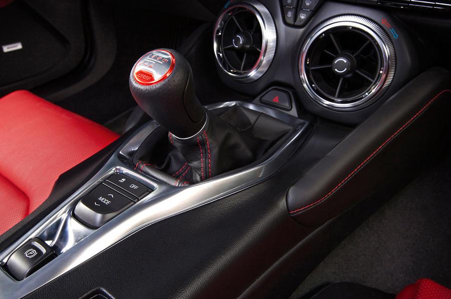 Chevrolet Camaro manual gearbox