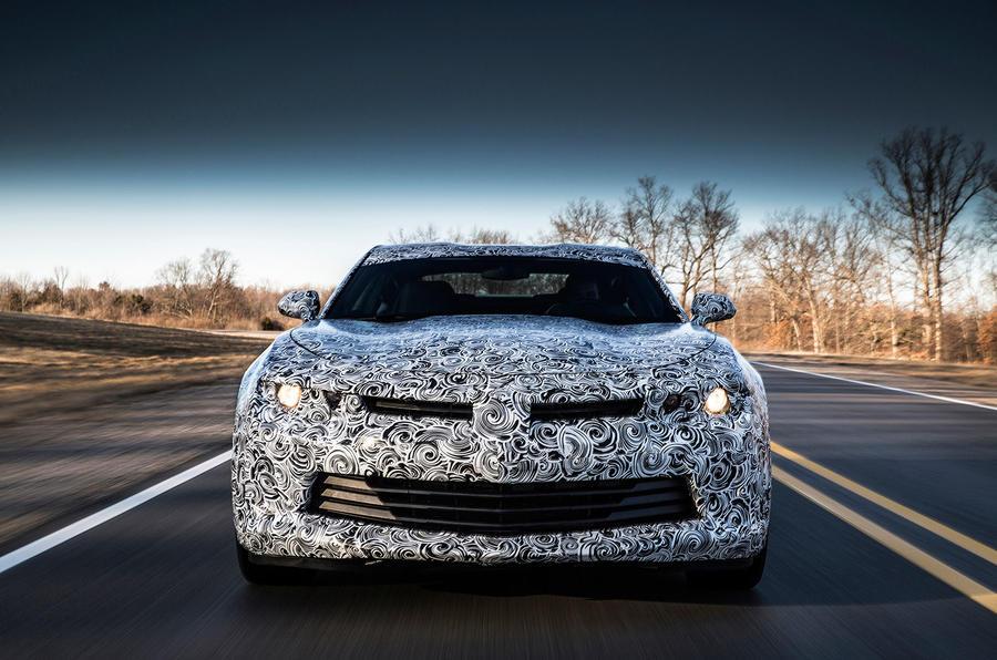 Chevrolet Camaro prototype front