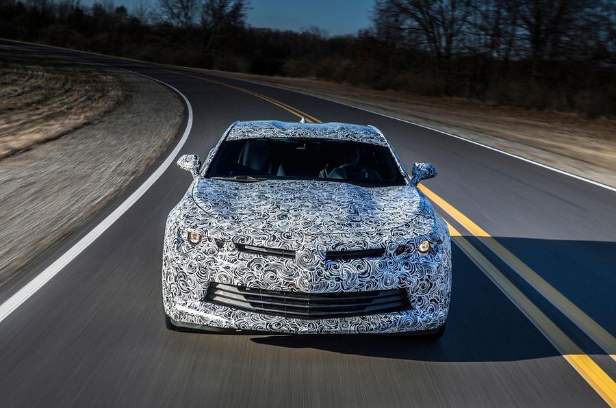Chevrolet Camaro prototype