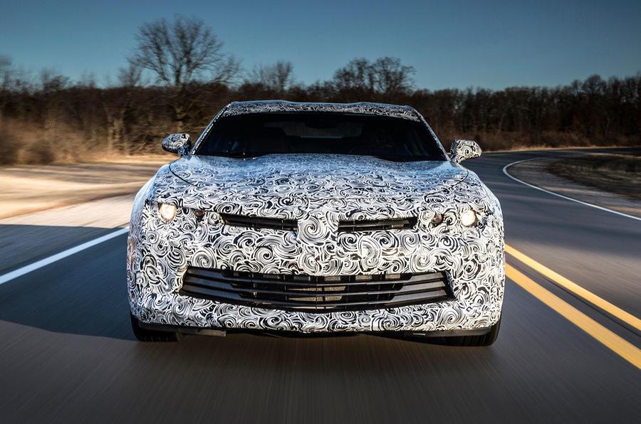 Chevrolet Camaro front end