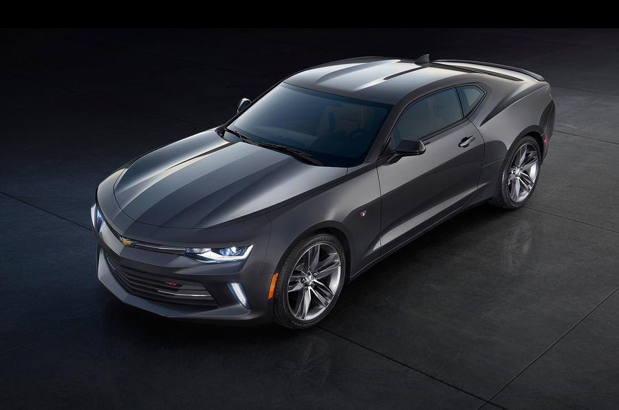 Chevrolet Camaro top profile