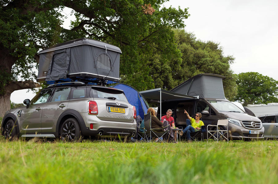 mini countryman autohome roof tent vs mercedes benz marco polo camping on wheels twin test. Black Bedroom Furniture Sets. Home Design Ideas