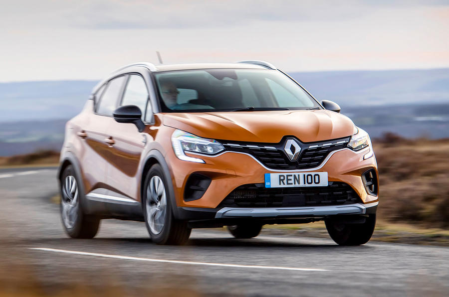 Renault Captur 2020 UK first drive review - on the road front
