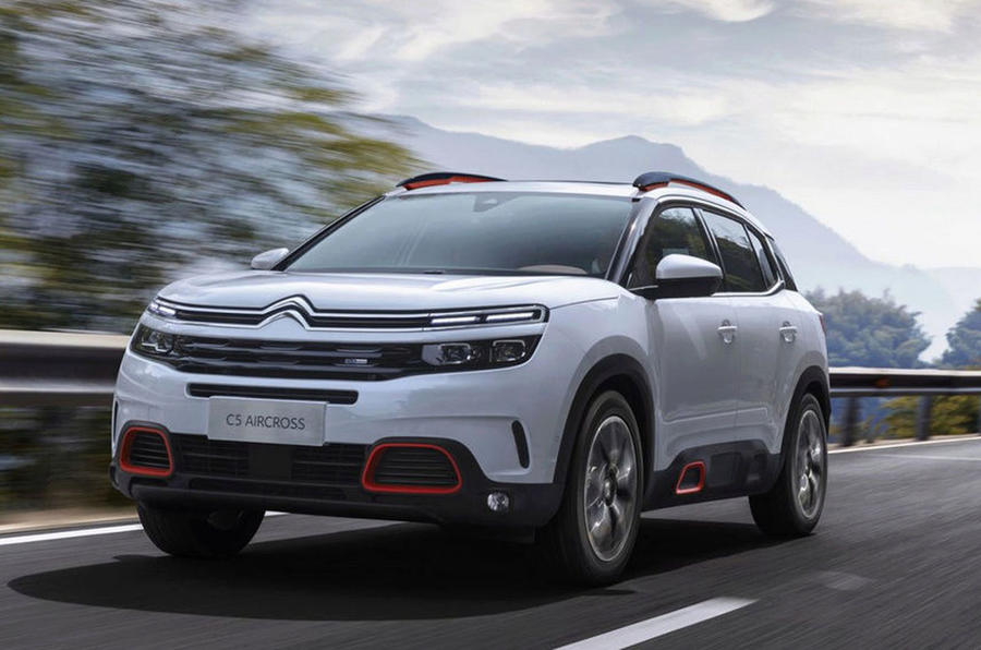 citroen c5 aircross leaked online ahead of official reveal autocar. Black Bedroom Furniture Sets. Home Design Ideas
