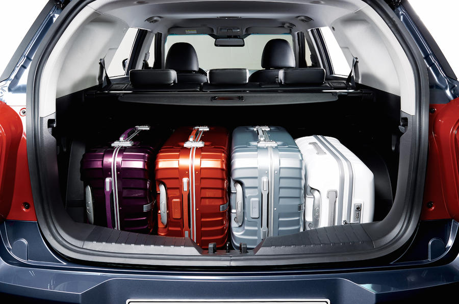 Ssangyong Tivoli XLV boot space