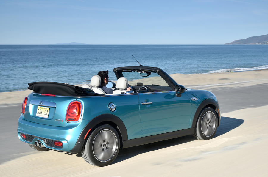 Mini Cooper S Convertible rear