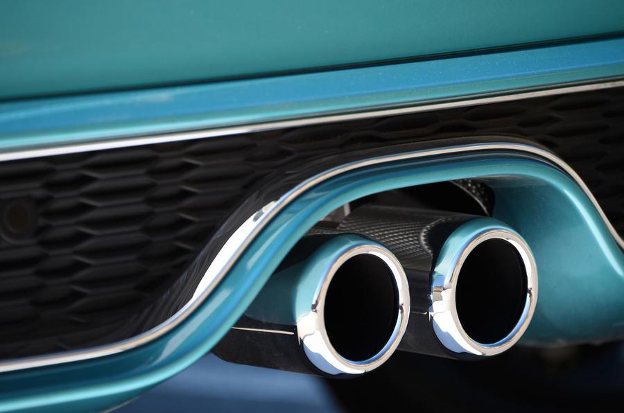 Mini Cooper S Convertible twin exhaust