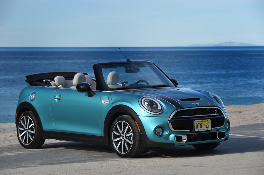 4 star Mini Cooper S Convertible