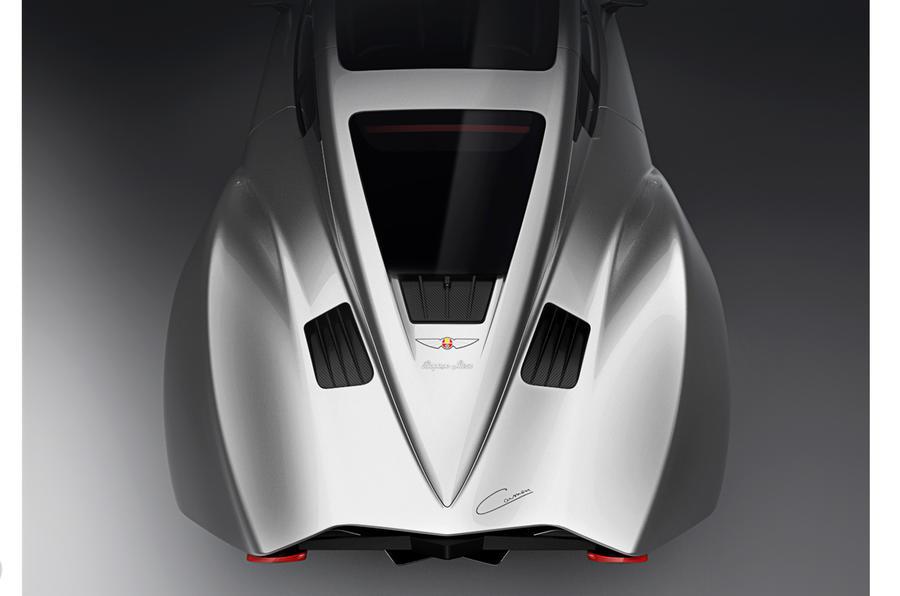 Rear of the new Hispano Suiza Carmen