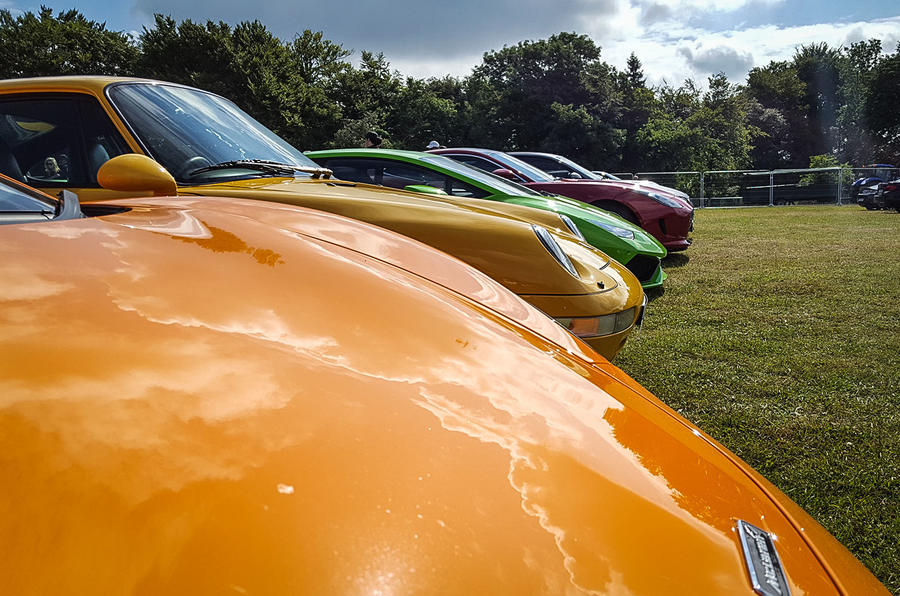 ANY COLOUR YOU WANT: There's all shapes and sizes to excite supercar fans