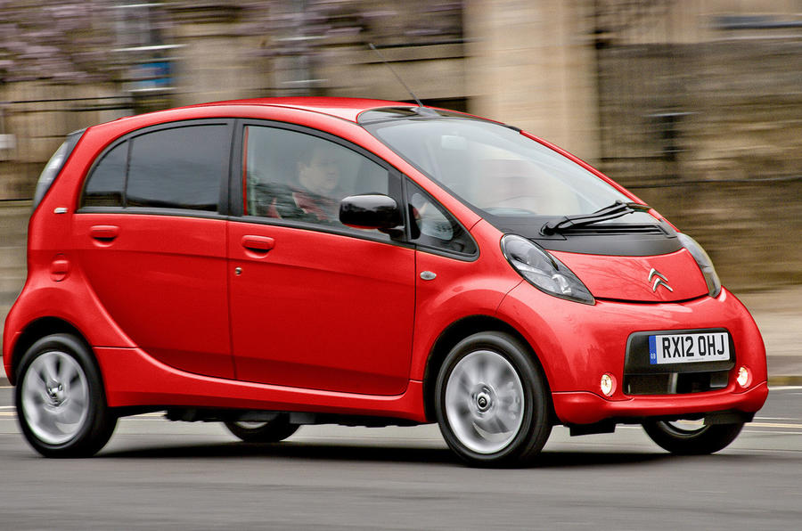 CITROEN C-ZERO/PEUGEOT ION -  LAUNCHED 2011