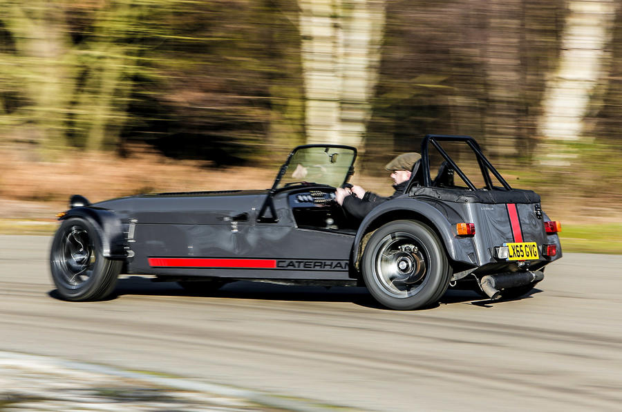 Caterham Seven 620S rear drifting