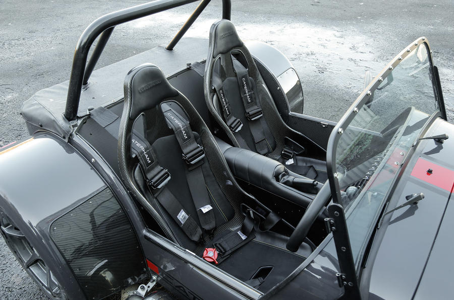 Caterham Seven 620S sport seats