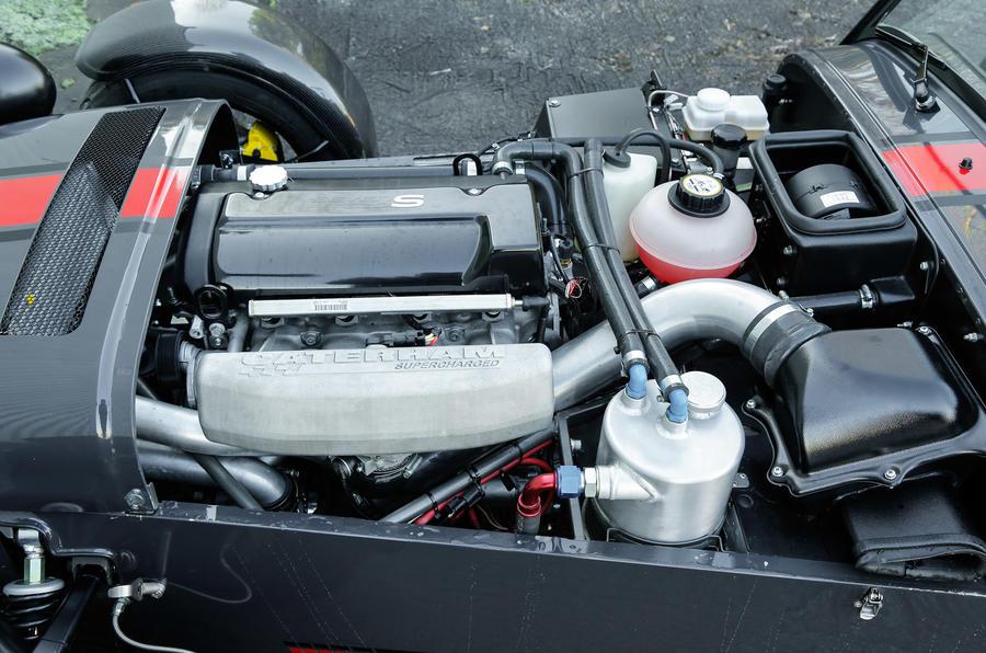 Supercharged Caterham Seven 620S petrol unit