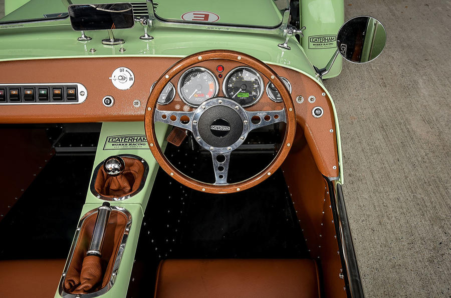 Caterham Supersprint dashboard
