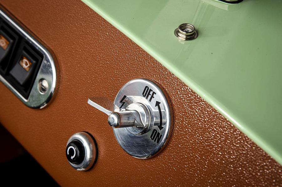 Caterham Supersprint ignition switch