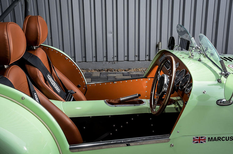Caterham Supersprint interior