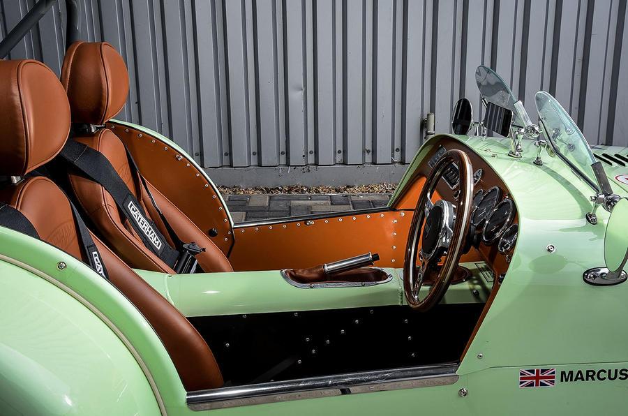 Caterham Supersprint interior